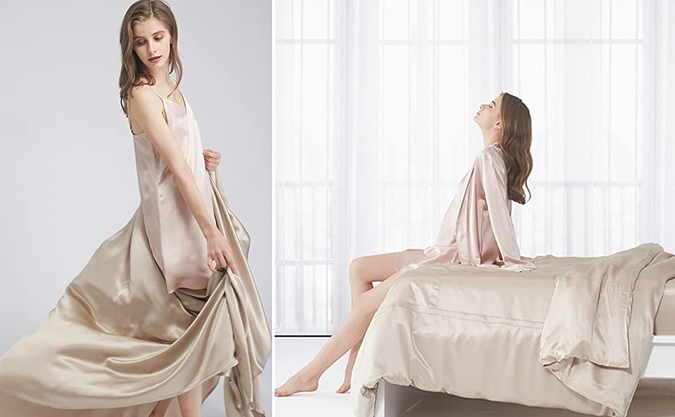 30 Momme Silk Sheets Set