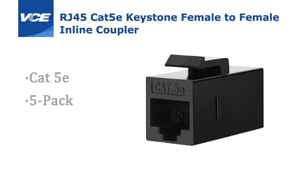 Cat5e RJ45 Keystone Jack