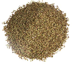 oregano dried basil leaves
