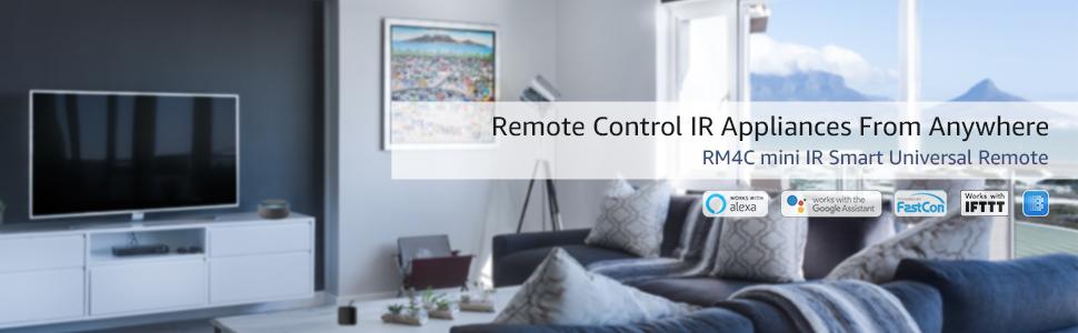 Broadlink Bestcon Universal remote IR Remote TV AC Audio Smart Home