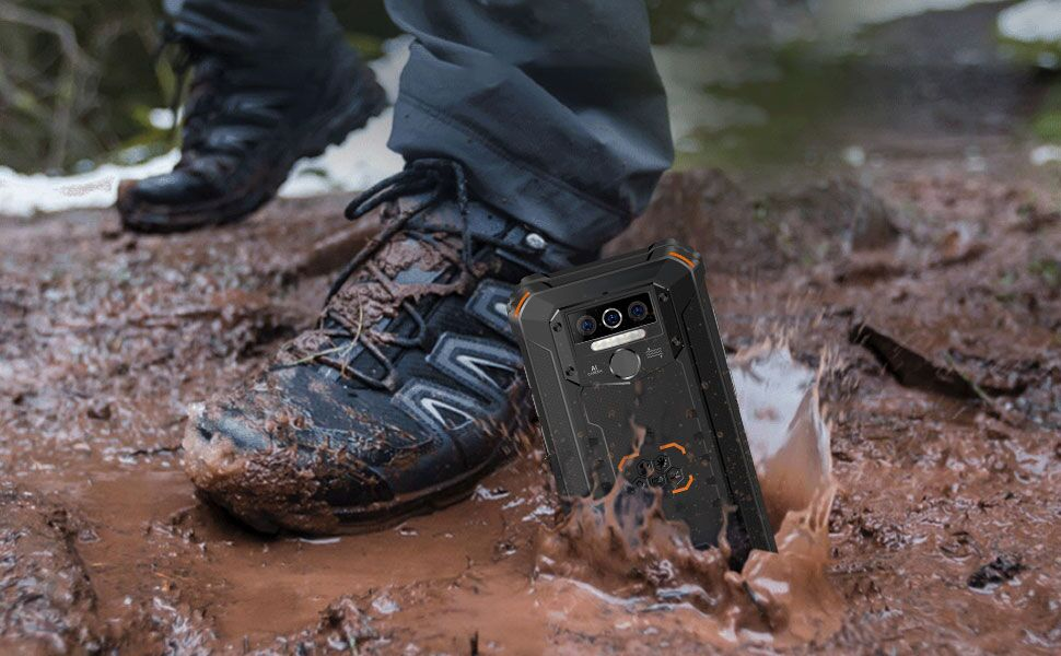 Waterproof, dustproof, drop-proof and shockproof