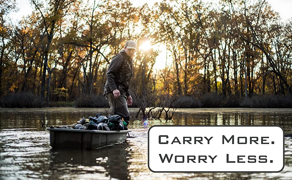 This Decoy Bag makes duck hunting comfortable and convenient