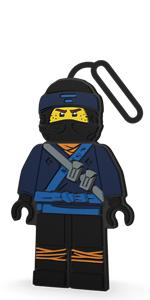 LEGO Ninjago Movie Jay Luggage Bag Tag
