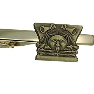J11TB LDS CTR Sunstone Gold Tone Tie Bar Alloy One Moment In Time