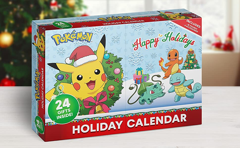 Pokemon advent calendar 2020 holiday christmas figure Nintendo toy gift boy girl kid sword shield