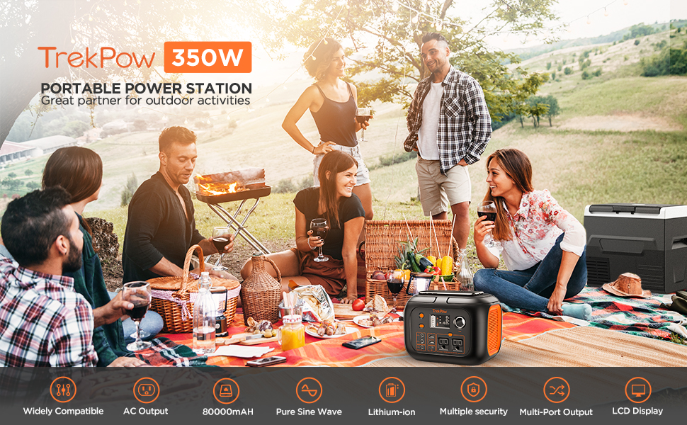portable power station function