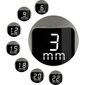 Cortapelos Impermeable con Peine-guía Todo en 1 Cortadora de Pelo con Pantalla LED Maquina Cortar Pelo Profesional Batería Recargable: Amazon.es: Salud y cuidado personal