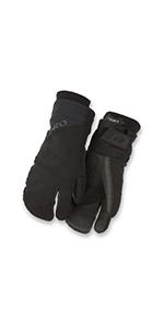 100 proof winter bike gloves