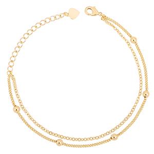 double layering bracelet