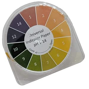 ph kombucha test paper roll strips color chart instant