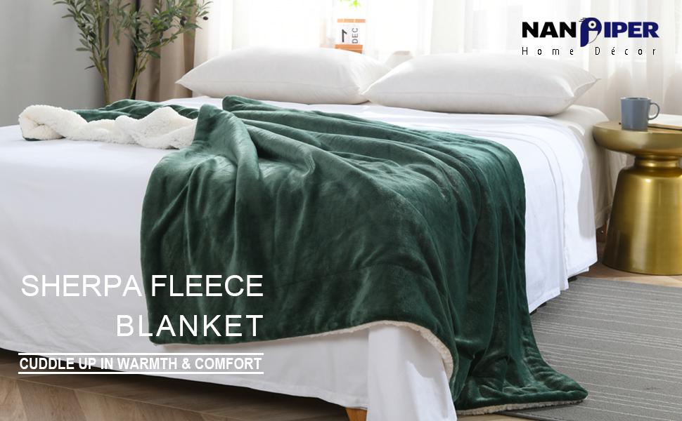 soft flannel fleece blanket