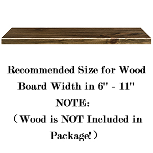 Recommended Size for Wood Board