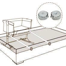 Easily Attach to Parents' Bed