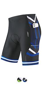Men cycling shorts padded