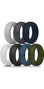 Wedding Rings for Men 8.7mm Wide