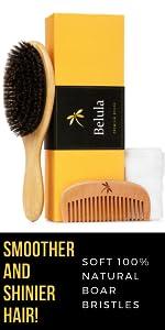 boar bristle hair brush for fine hair boar bristle hairbrush smoother