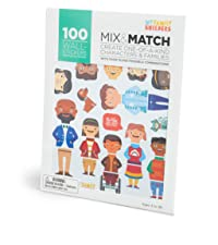 My Family Builders Mix amp; Match Diversity Stickers