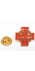 Gemelolandia | Pin de Solapa Orden del Santo Sepulcro de Jerusalén