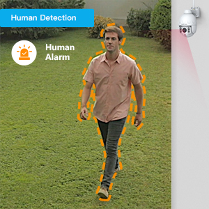 Human Detection is Available for Reducing Unwanted Alerts