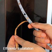Effiziente Installation