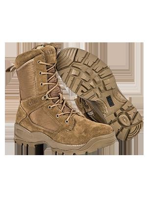 men mens tactical work boots khaki gear fit pocket hiking waterproof military big 5.11