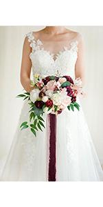 """11"""" Bridal Bouquet"""