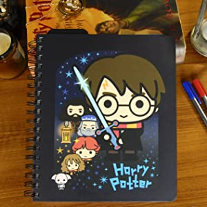 Conquest Journals Limited Edition Harry Potter Charms 2020 Weekly Planner, Weekly Vertical Format, Wrapped Book Board Cover, Spiral Bound, 4 Sticker ...