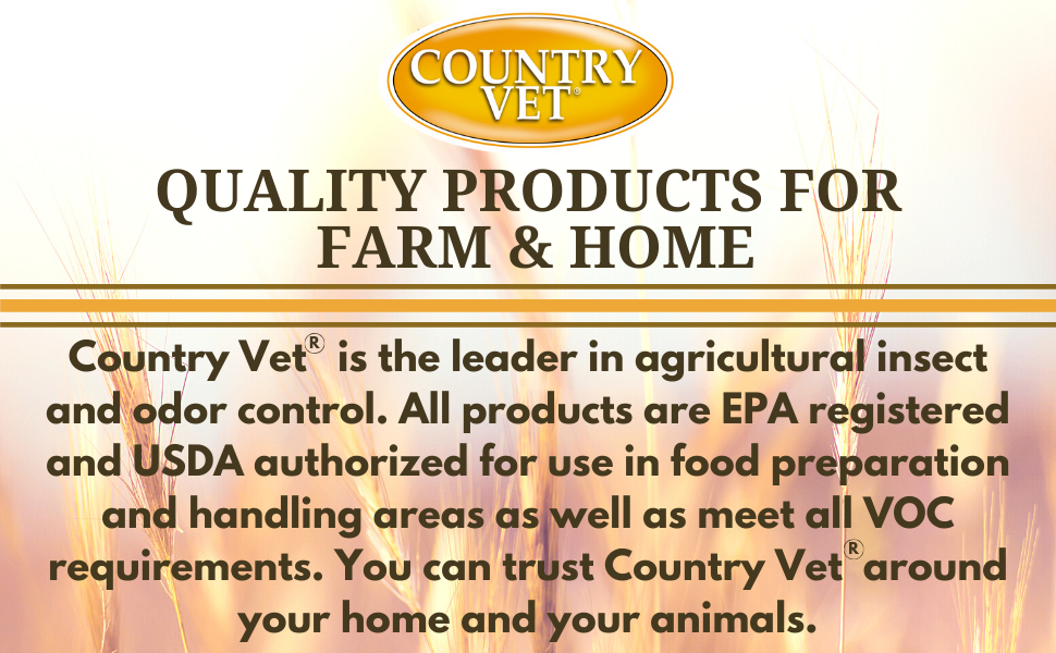 country vet items