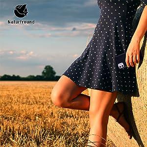 Nachhaltiges Case aus Weizenstroh