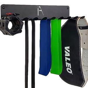 omega gym storage rack gym band gym wall mount exercise band rack