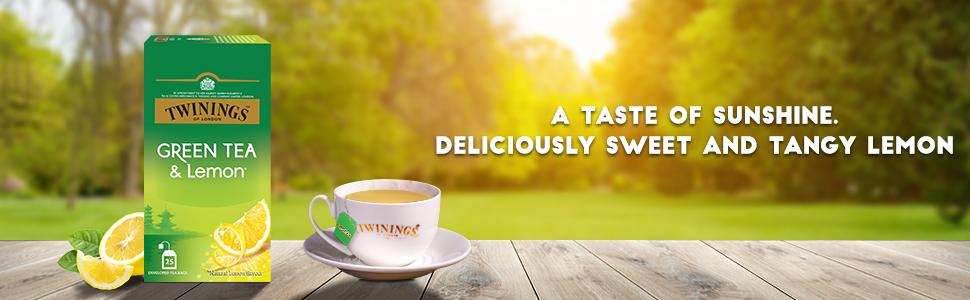 Twinings - Green Tea & Lemon, 25 Bags