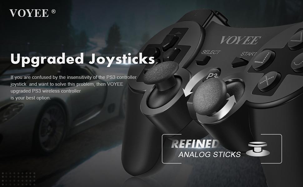 PS3 CONTROLLER'S JOYSTICKS