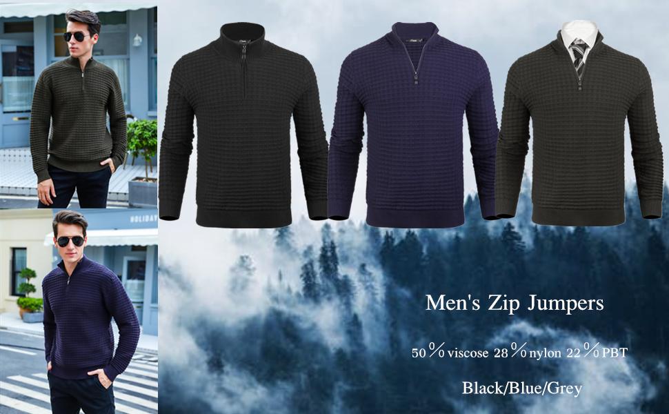 Men's Zip Jumpers