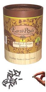 EarthPods Bamboo Bonsai Organic Plant Food Fertilizer Spikes
