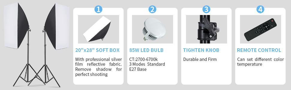 led softbox softbox kit photography lighting photography softbox backdrop stand lighting kit