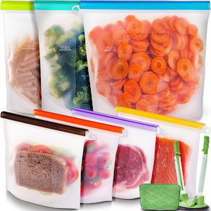 food silicone bags