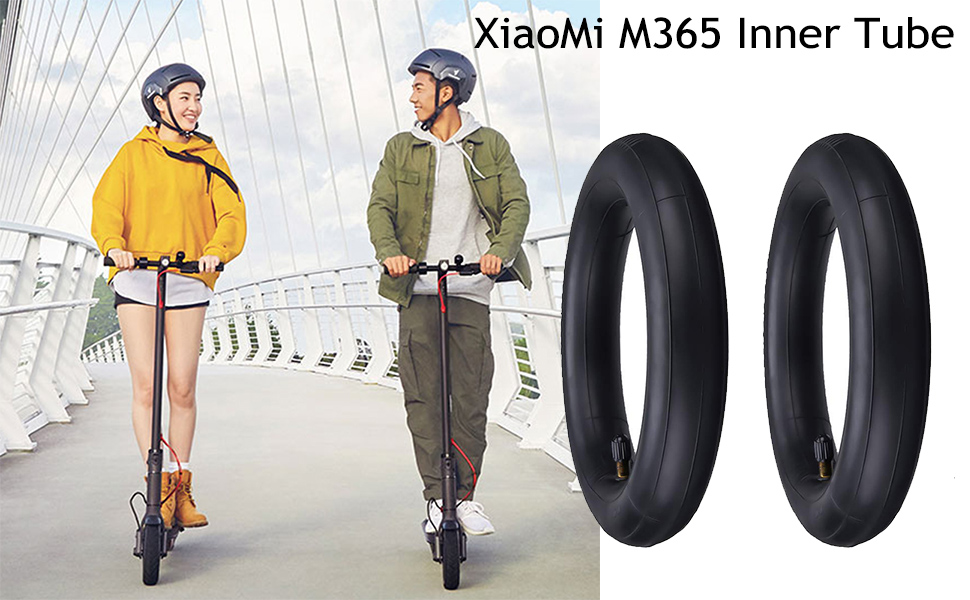 Cloverclover 2Pcs Thicken Inner Tubes Pneumatic Tires Electric Scooter Durable Wheel Tyre