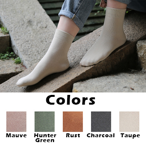 A Variety of Colors in Soft Hues to Match Any Outfit