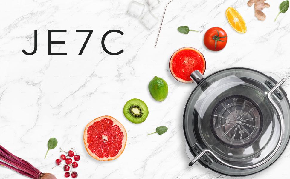 Duronic JE7C Licuadora de 800W para frutas y verduras – 2 ...