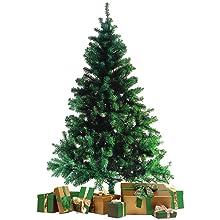 Wohaga® Àrbol de Navidad con Soporte 180cm / 600 Puntas Abeto Artificial Decoración navideña: Amazon.es: Hogar