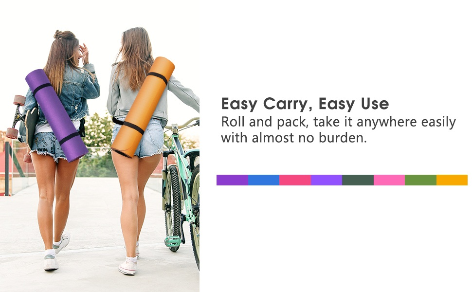 yoga mat for men workout anti slip yoga mats for women gym mats for workout at home large size