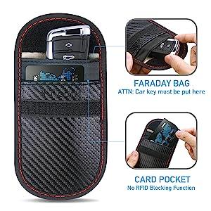 how to use faraday bag