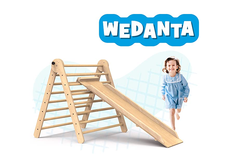 wedanta indoor playground jungle gym indoor climbing structure Slides for kids kids climber