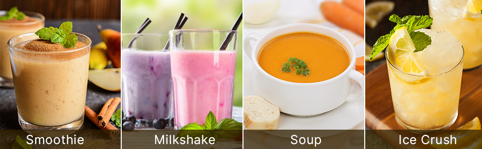 more recipes for countertop blender daily use and commercial use nutritious milkshake for children