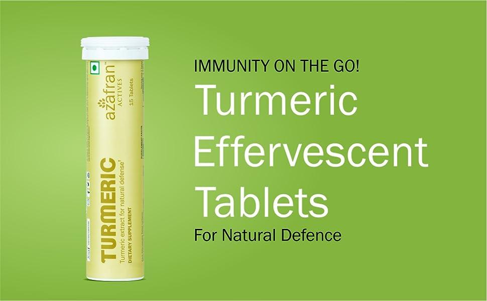Turmeric, Immunity, Tablets, Azafran