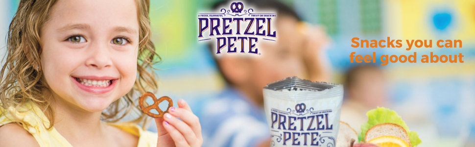 pretzel pete healthy snacks you can feel good about for kids