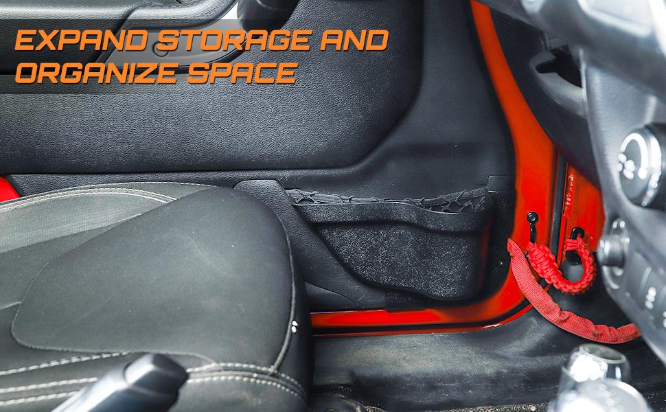 Jeep Wrangler Storage Accessories