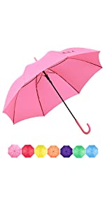 stick umbrella pink large umbrella for womens gift