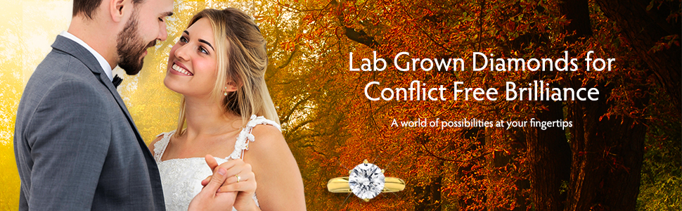 New World Diamonds wedding conflict free brilliance
