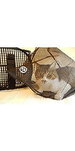 猫 猫壱 おちつくネット  おでかけ ペット 軽量 6kg 耐荷重